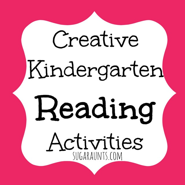 Ideas for sight words and reading activities for Kindergarteners