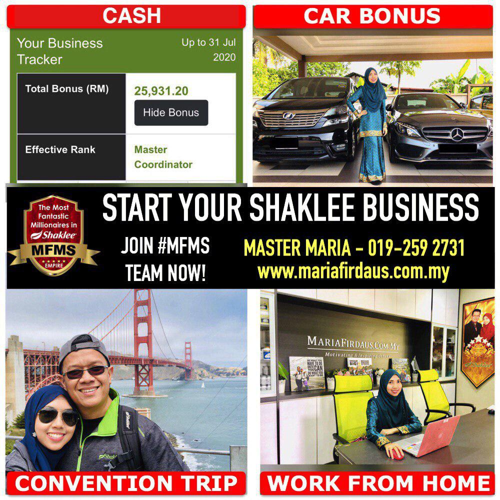Start Your Shaklee Business