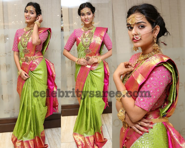 Heena Rai Traditional Silk Saree