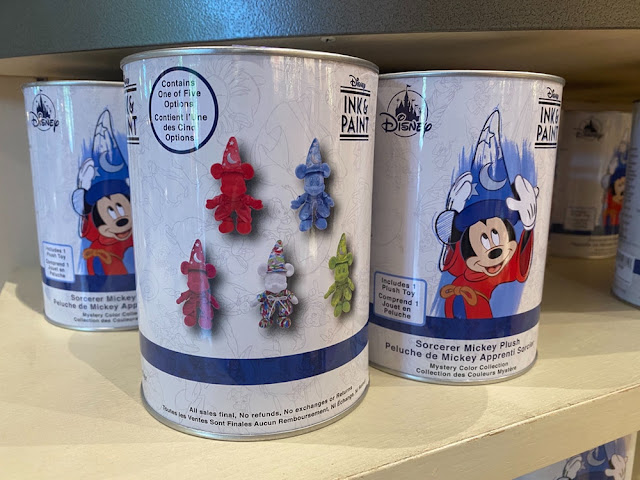 Ink & Paint Mystery Tin, Sorcerer Mickey Plush
