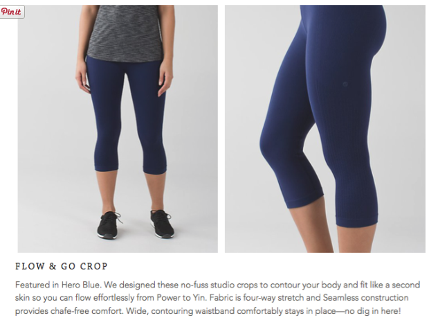lululemon flow-and-go-crop