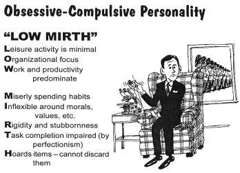 Качества обсессивно-компульсивной личности