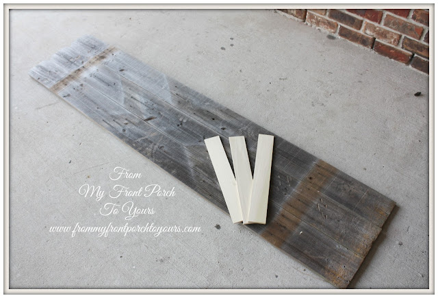 DIY Plank Sign-Christmas- From My Front Porch To Yours