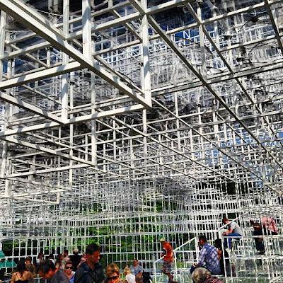 Serpentine Gallery architecture by Sou Fujimoto