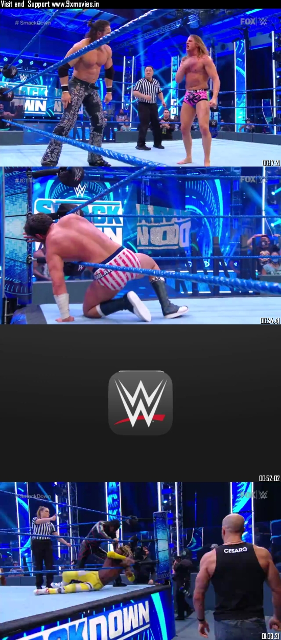WWE Friday Night Smackdown 03 July 2020 HDTV 720p 480p 300MB