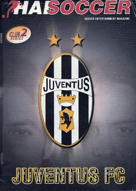 BOOKLET CLUB SERIES JUVENTUS FC