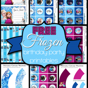 10+free frozen birthday party printables 1 The Best Wedding, Easter, Spring and More Printables 47