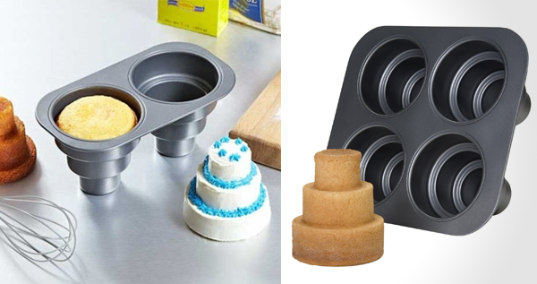 Mini 3 Tier Cake Pan