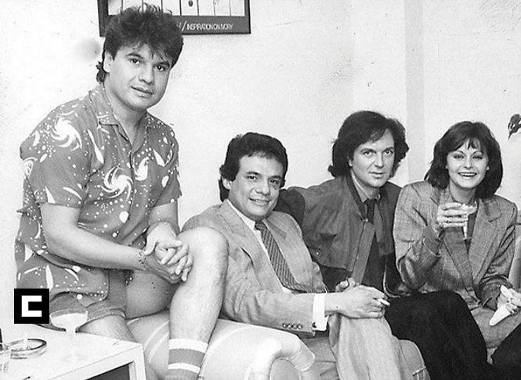 Camilo Sesto, José, José, Rocío Durcal y Juan Gabriel