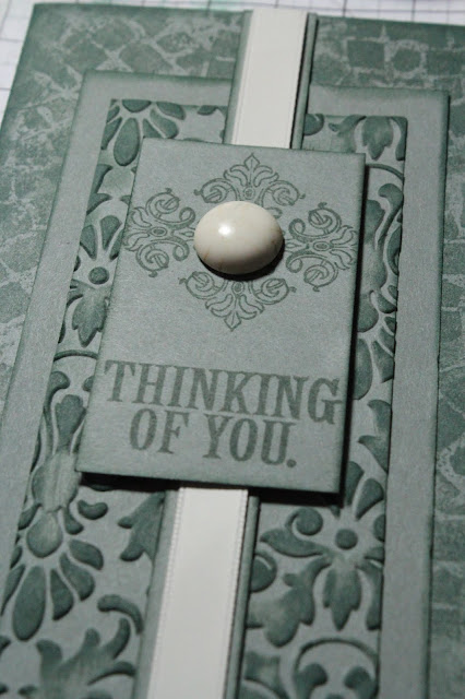 0219 Cobblestone Idea Deck Challenge Card #rubberstamping #cards #clubscrap #ideadeck #assemblylinecardmaking
