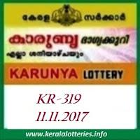 kARUNYA (KR-319) ON 11 NOVEMBER, 2017