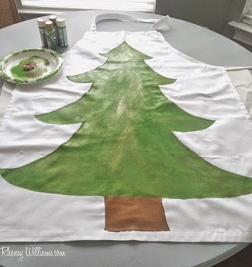 christmas tree diy costume step 4