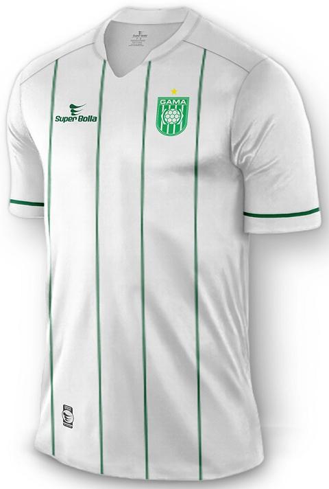 Gama apresenta novos uniformes fabricados pela Super Bolla - Show de ... 6719361f84adf