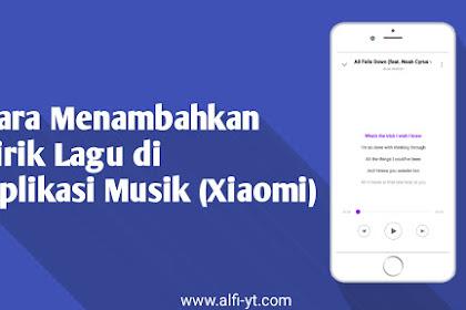 2 Cara Menampilkan Lirik Lagu di Aplikasi Musik (Bawaan)