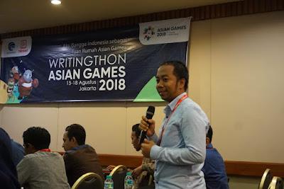 Mewakili Sulawesi Tengah dalam Writingthon Asian Games