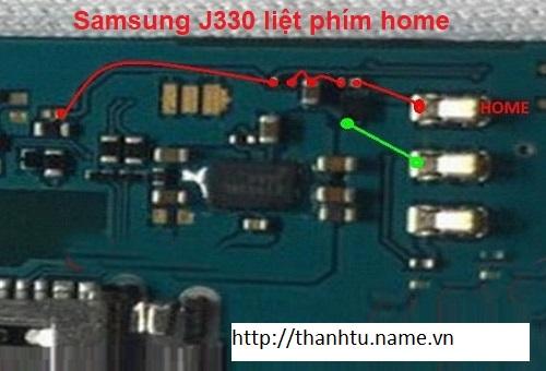 SAMSUNG J330 LIỆT PHÍM HOME