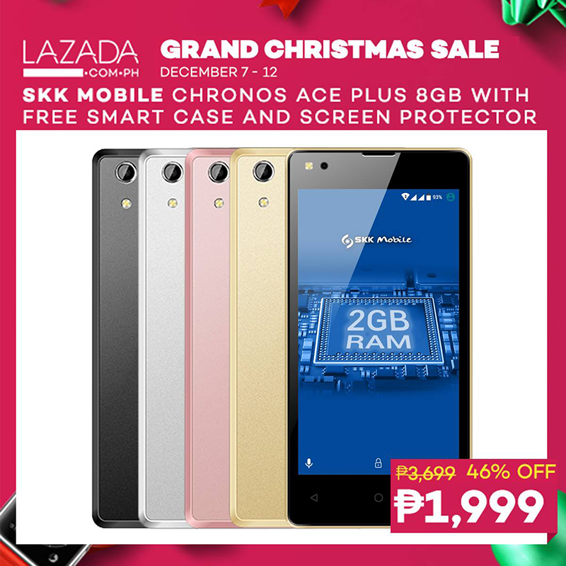 SKK's Chronos Ace+ is now priced at PHP 1,999 at Lazada!