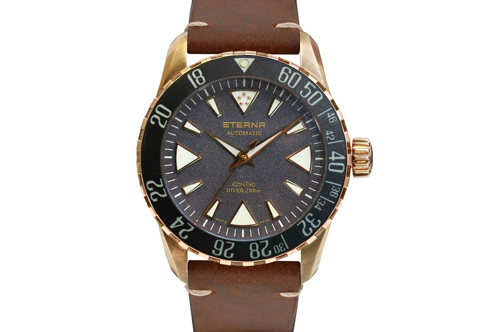 Eterna Kontiki Bronze Manufacture Time And Watches
