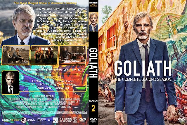 Goliath Season 2 DVD Cover