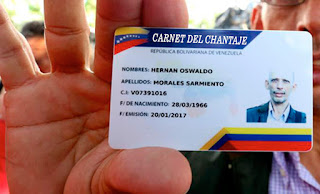 Periodista renunció a El Universal ya que la querían obligar a sacarse el Carnet del Chantaje de Maduro