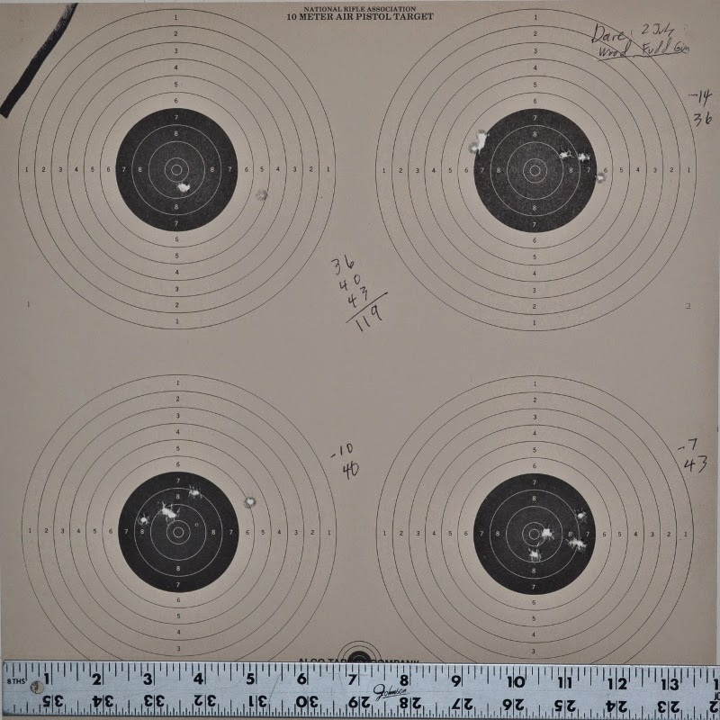 Blueflax Airguns: Benjamin Marauder Shoot Off
