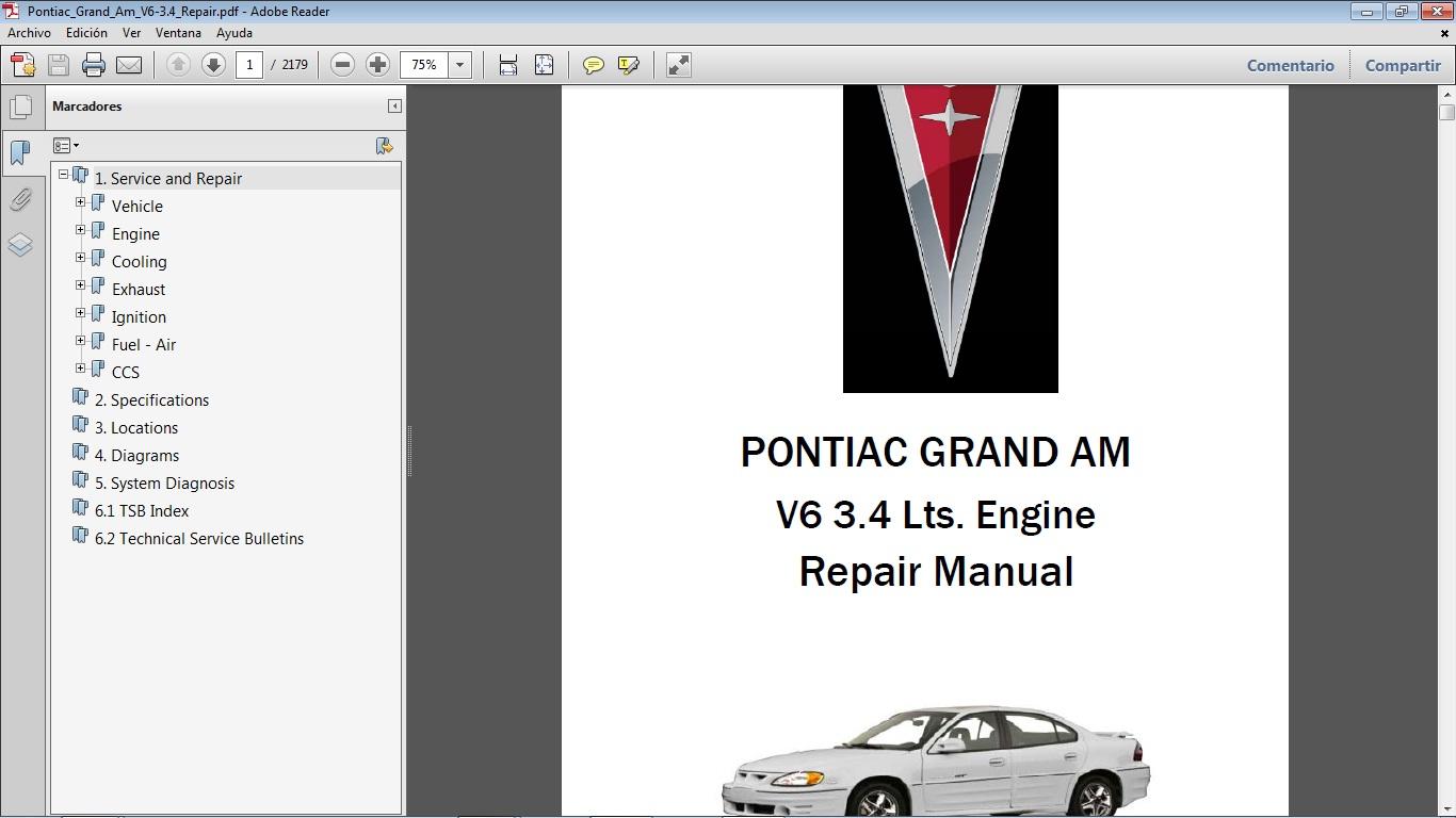 2005 pontiac grand am repair manual pdf [ 1366 x 768 Pixel ]