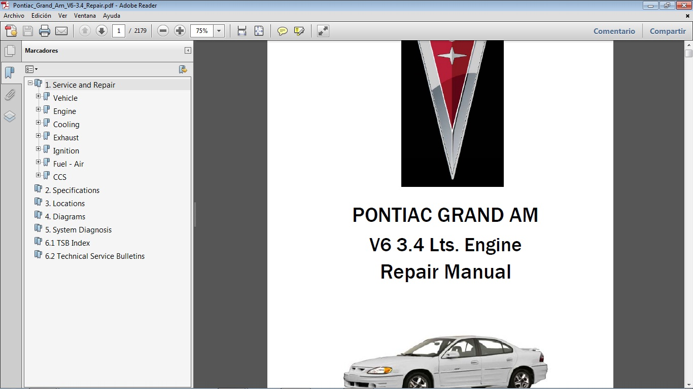 hight resolution of 2005 pontiac grand am repair manual pdf