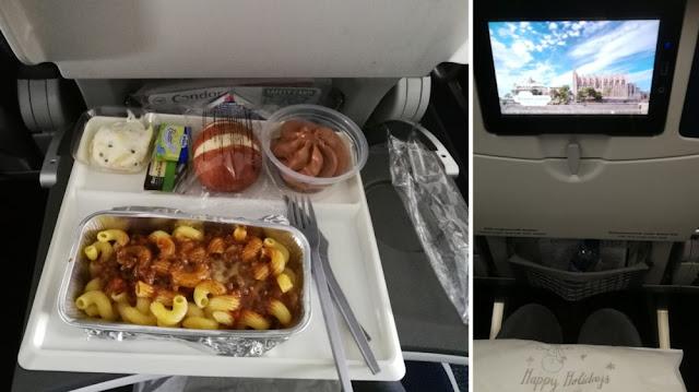 Flug Frankfurt - Havanna mit Condor - Sitzplatz und Essen in der Economy