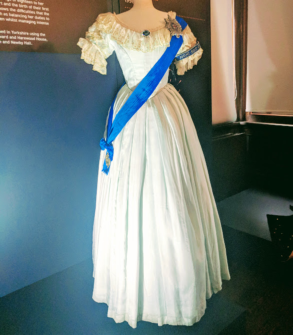 Preston Park - Behind the Seams | 10 reasons to visit with tweens and teens  - Jenna Coleman's costume from Victoria