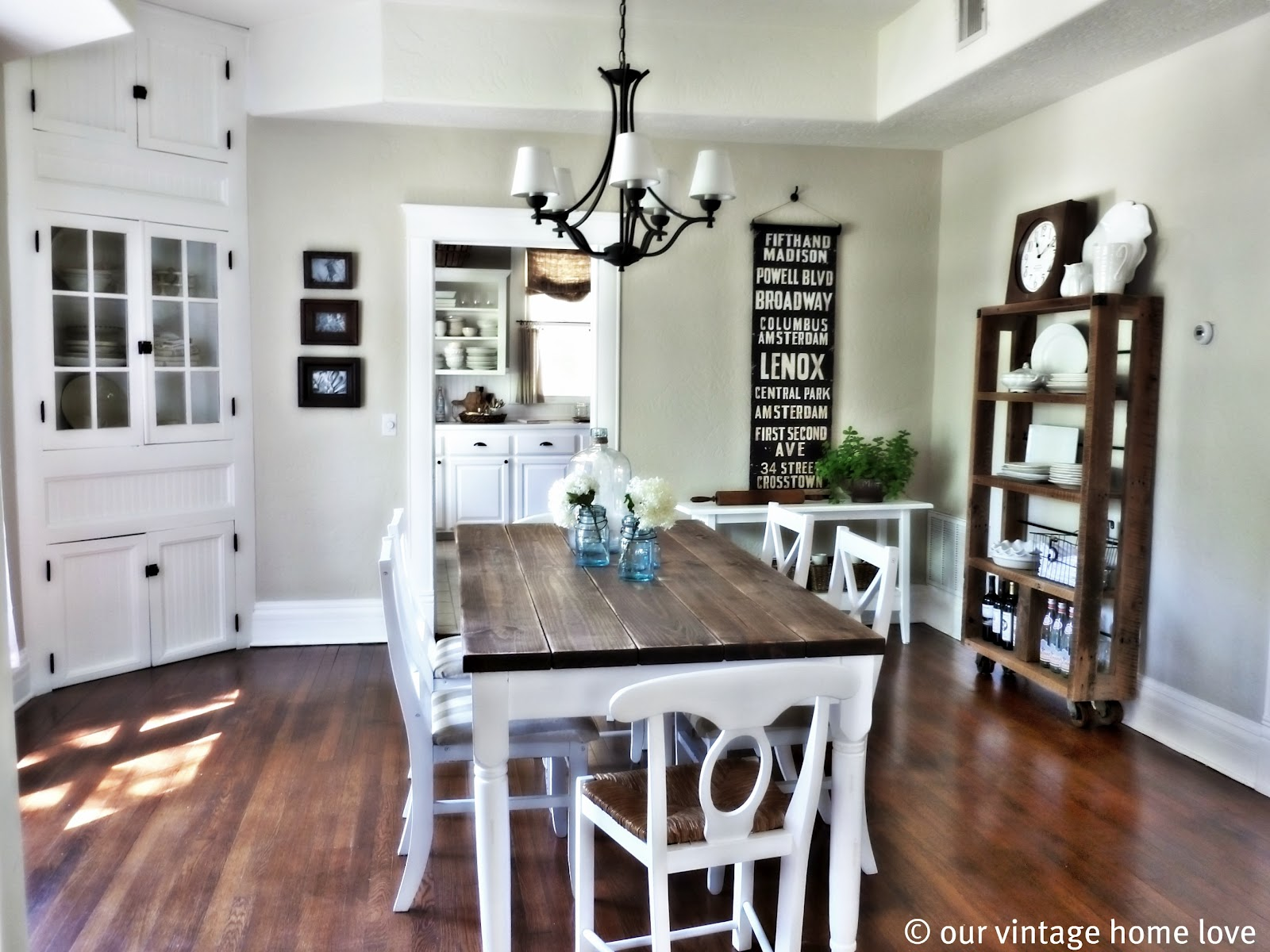 vintage home love Dining Room Table