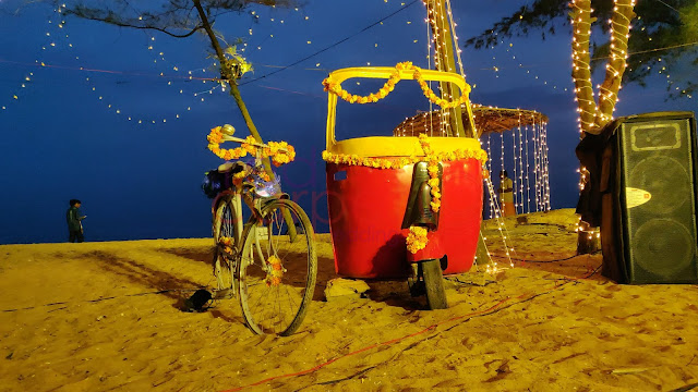 photo booth for beach weddings kerala