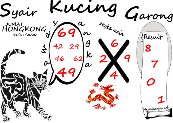 Kode syair Hongkong Jumat 31 Juli 2020 172