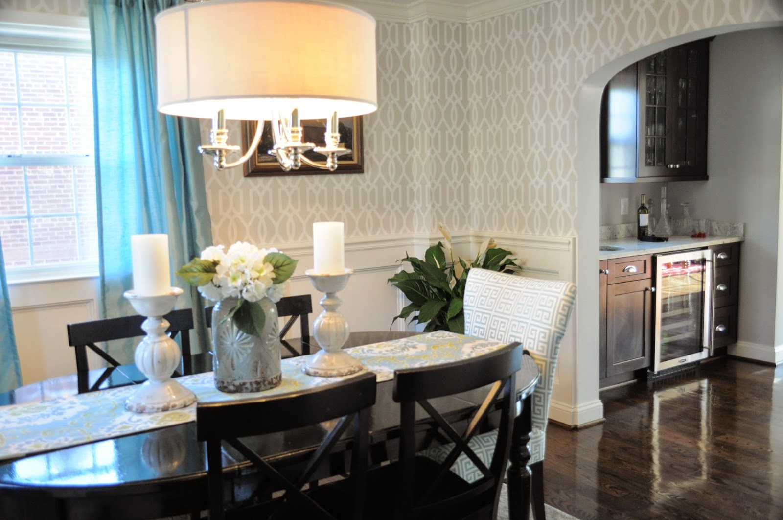 Designing On The Side Dining Room Reveal Fixer Upper Table Decor