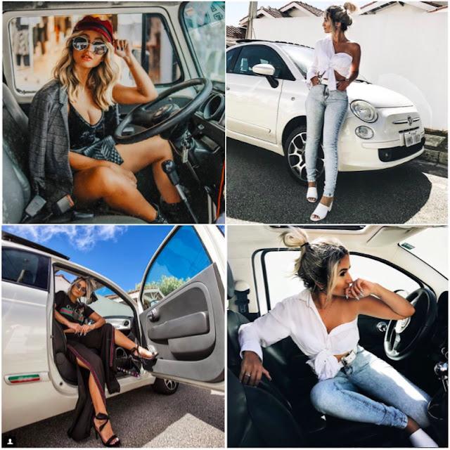 Como fazer fotos no carro com para o instagram