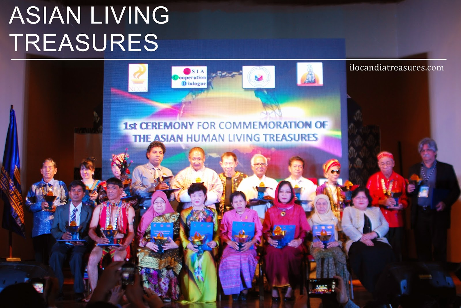 Department Of Foreign Affairs Held The First Ceremony For Commemoration Asian Living Human Treasures At Manila Hotel On May 20 21 2017