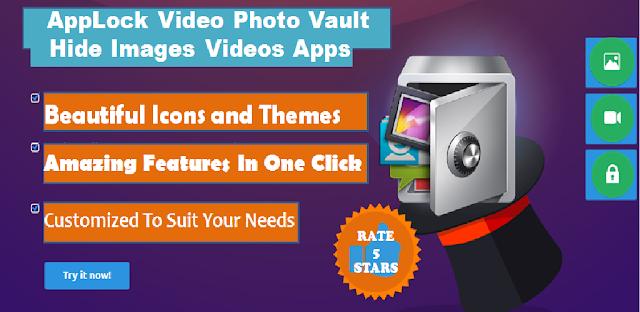 AppLock Video Photo Vault