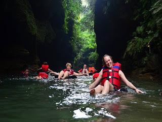 Goa Lanang River Tubing