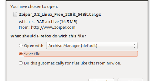 Zoiper Linux Installation and Configuration