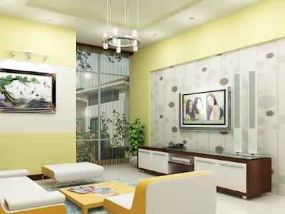 mẫu kính cường lực ốp tường cho phòng khách