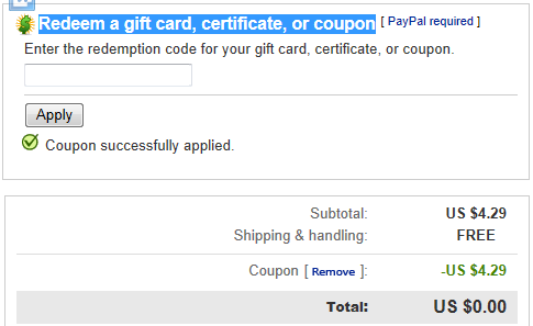 verified ebay coupons