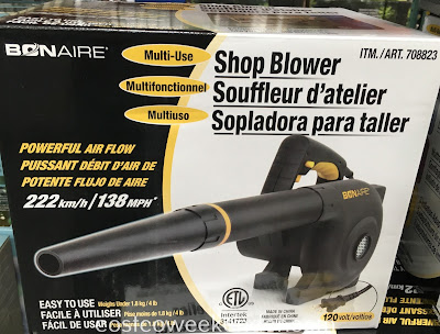 Keep your home workshop clear of debris with the Bon-Aire Multi-Use Shop Blower