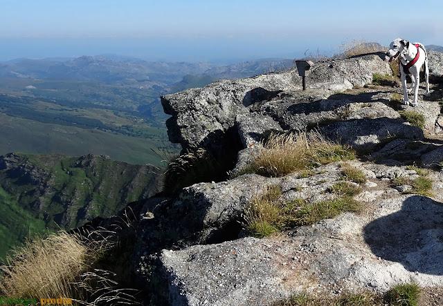Castro Valnera a 1.717m de altitud