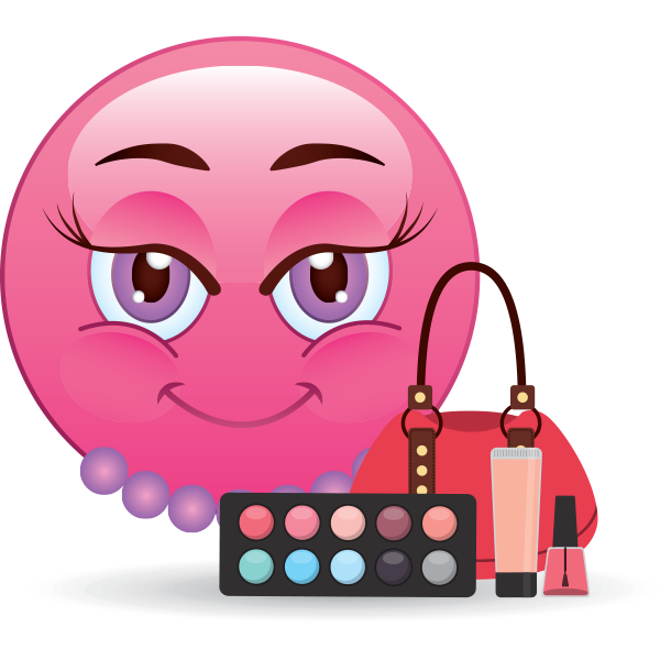 Make-Up Queen Smiley