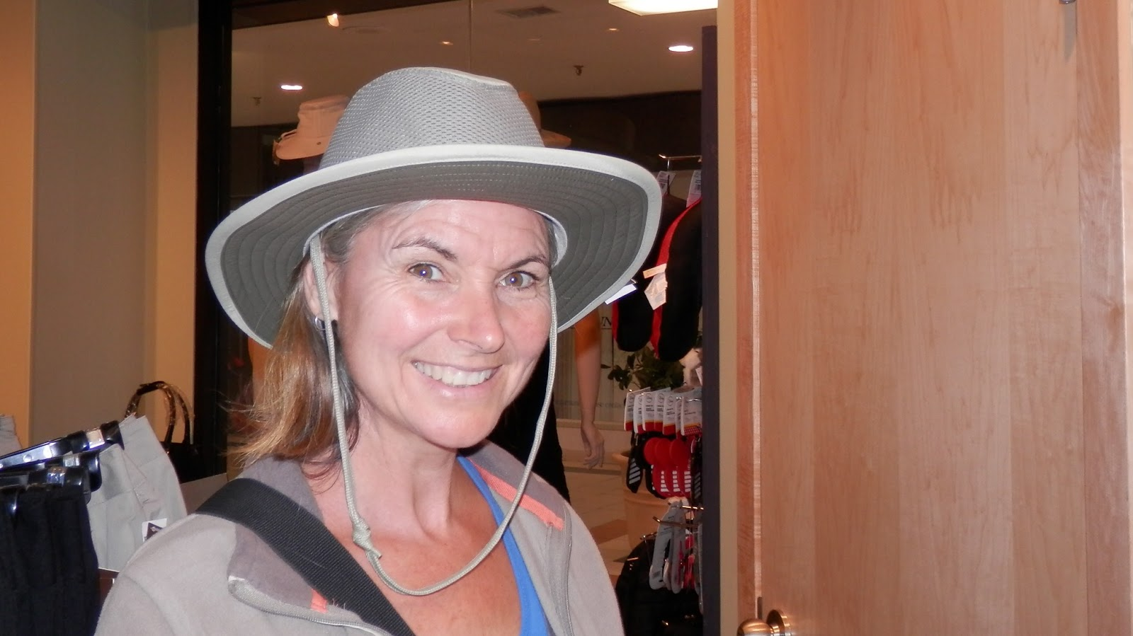 3479c71497226 Travel with Kevin and Ruth!  We re ready to order our Tilley hats!