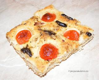 Pizza cu rosii cherry retete culinare,