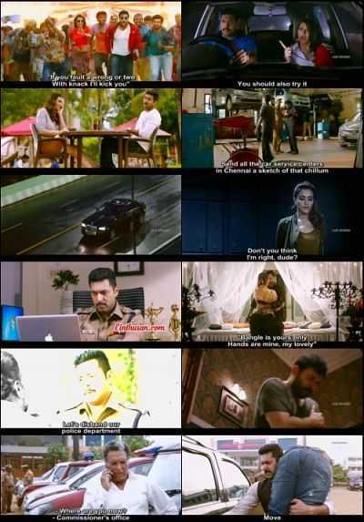Bogan (2017) Tamil 300mb Movie WebRip