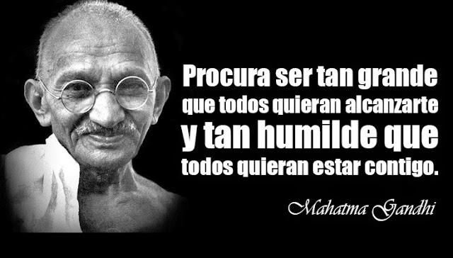 Resultado de imagen para LIDERAZGO Mahatma Gandhi