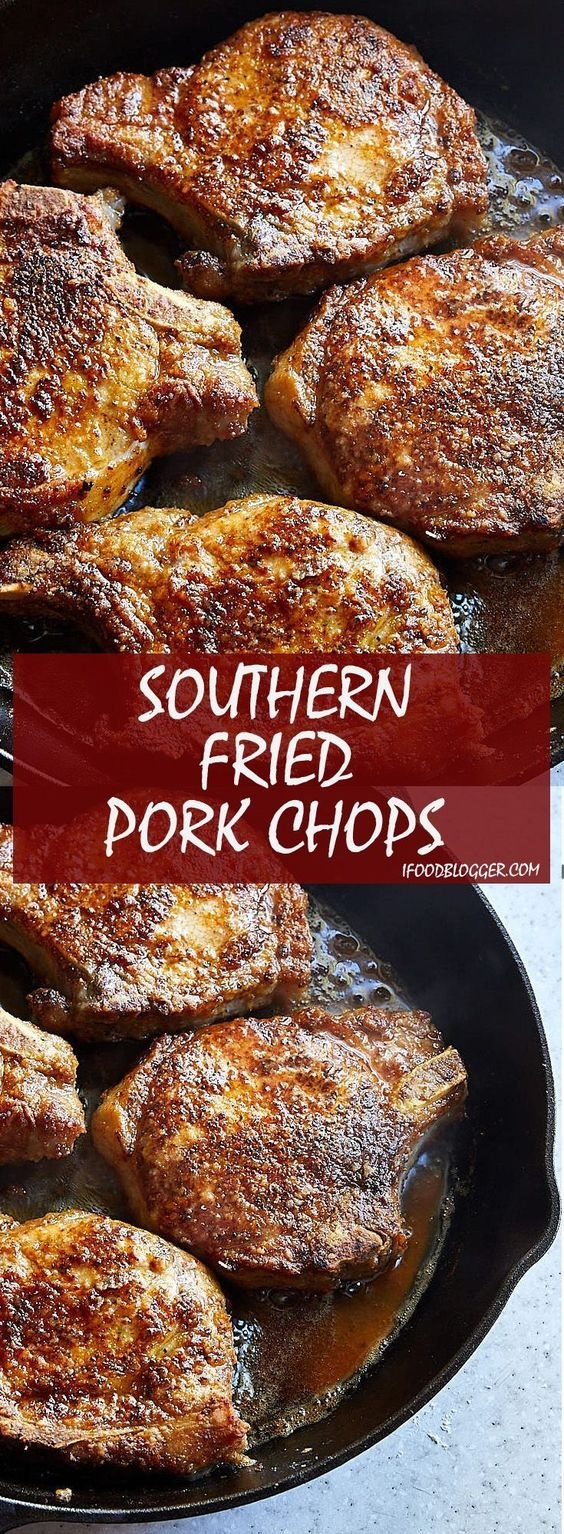 Classic Southern Fried Pork Chops