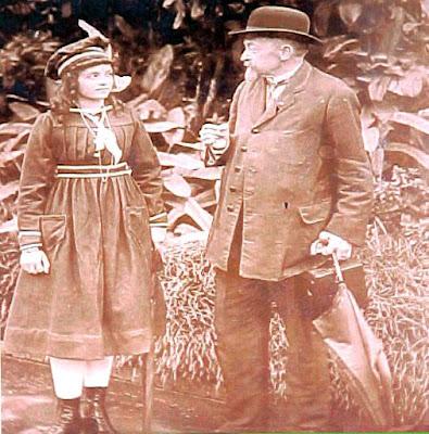 Krone, com a filha Ana Maria Krone