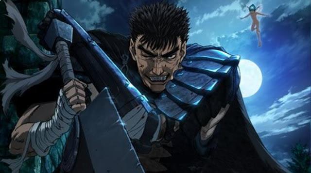 Berserk - Anime Tokoh Utama Menggunakan Pedang